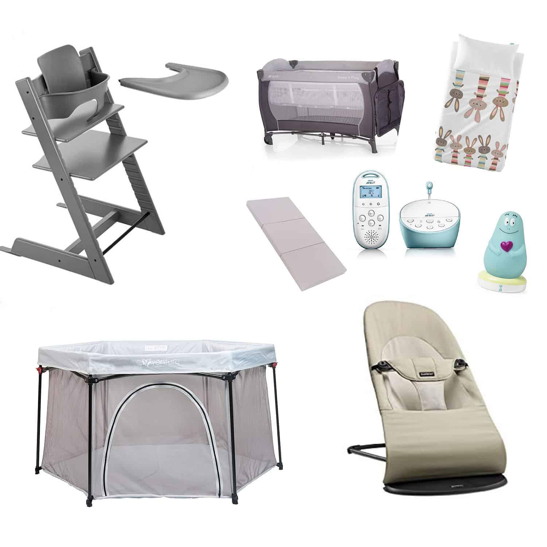 Baby In Kinderstoel.Peekaboo Ibiza Baby Equipment Rental Ultimate Package Stokke