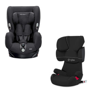 Ibiza baby equipment hire booster and car seat